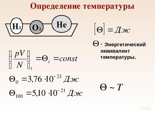 Определение температуры