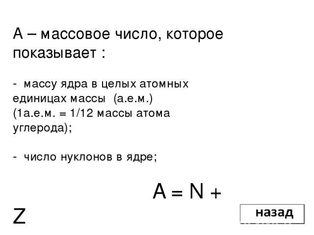 Энергия связи нуклонов в ядре Энергия связи атомных ядер – та энергия, которая необходима для полного расщепления ядра на отдельные частицы. Уравнение Эйнштейна связывающее массу и энергию: Альберт Эйнштейн (1879 - 1955)