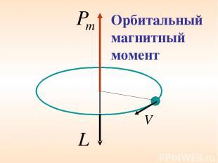 Орбитальный магнитный момент