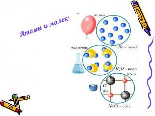 Атомы и молекулы