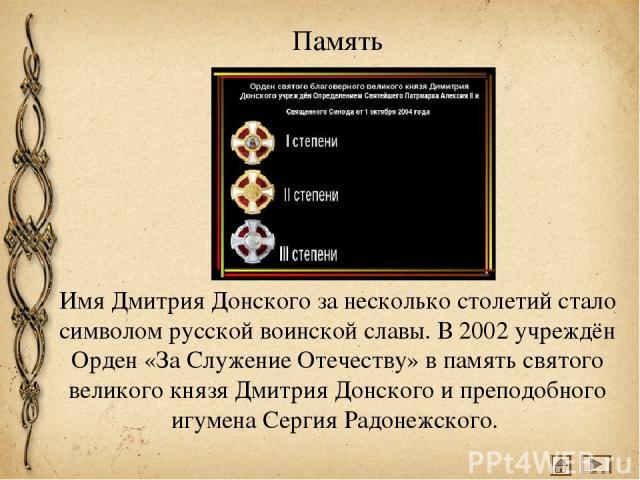 Проверь себя Что сделал князь Дмитрий накануне сражения? Выступил перед своим войском Отправился в монастырь Выбрал себе боевого коня