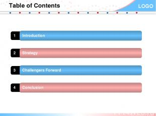 Table of Contents 1 Introduction 2 Strategy 3 Challengers Forward 4 Conclusion Y