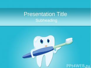 Presentation Title Subheading