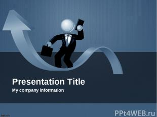 Presentation Title My company information