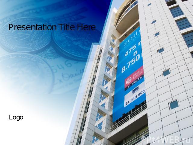 Presentation Title Here Logo
