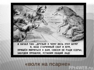 «волк на псарне»