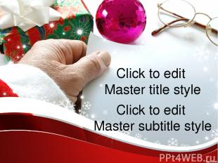 Click to edit Master title style Click to edit Master subtitle style Click to ed