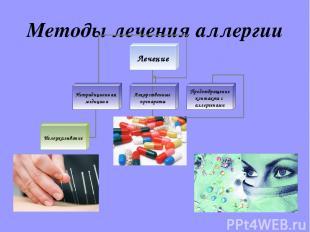 Методы лечения аллергии