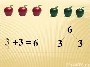 + 6 6 = 3 3 3