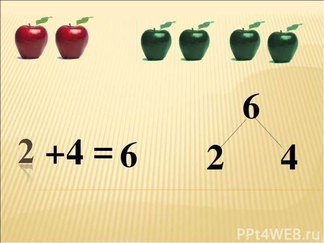 + 6 6 = 4 2 4