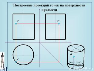Задания к графической работе №4 Построить аксонометрическую проекцию одной из де