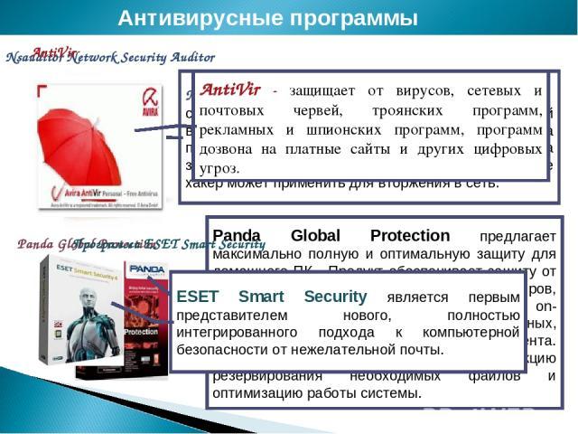 Nsauditor Network Security Auditor Антивирусные программы Nsauditor Network Security Auditor Panda Global Protection Nsauditor Network Security Auditor cканер безопасности локальной сети, позволяющий вести контроль компьютеров, находящихся в сети, н…