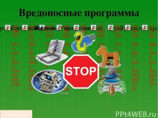 Схема работы вируса  Код вируса сначала поступает в оперативную память компьюте