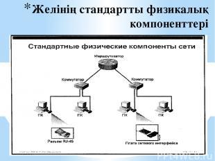 Желінің стандартты физикалық компоненттері