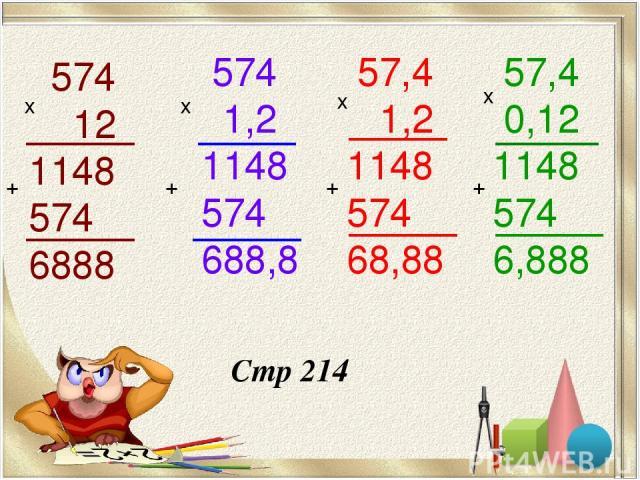 574 12 1148 574 6888 х + 574 1,2 1148 574 688,8 х + 57,4 1,2 1148 574 68,88 х + 57,4 0,12 1148 574 6,888 х + Стр 214