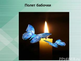 Полет бабочки