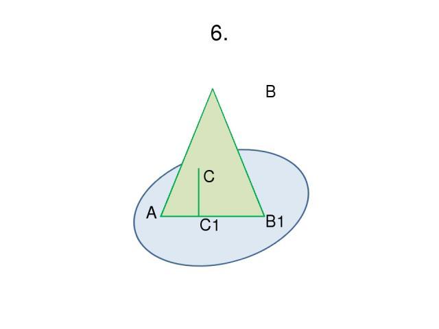 6. B C A C1 B1 α