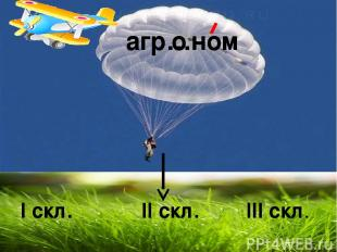 агр…ном I скл. II скл. III скл. о