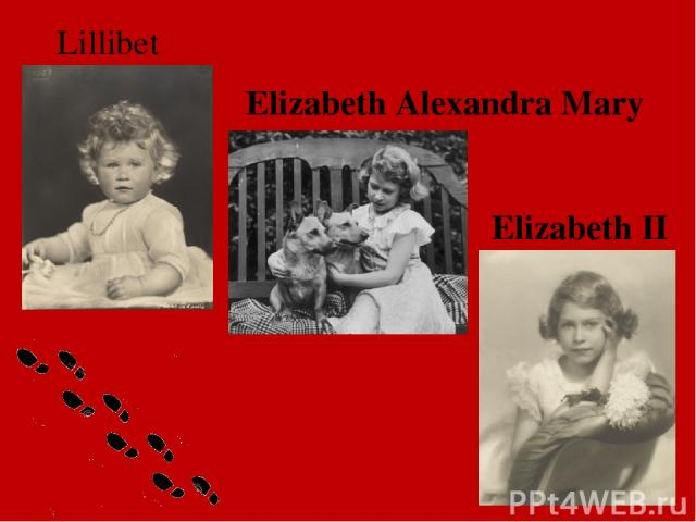Elizabeth II Elizabeth Alexandra Mary Lillibet