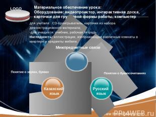 www.themegallery.com Материальное обеспечение урока: Оборудование: видеопроектор