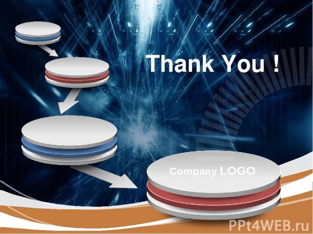Thank You ! Company LOGO LOGO