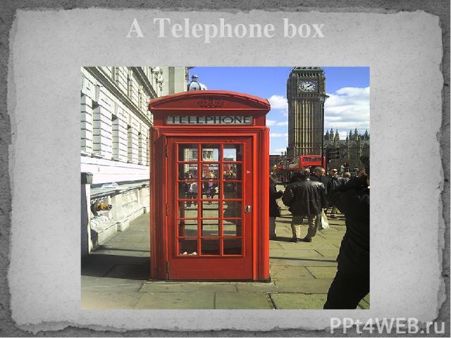 A Telephone box