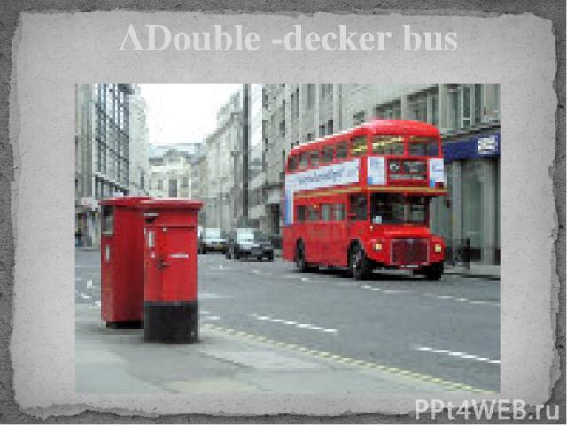 ADouble -decker bus