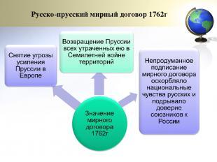 Русско-прусский мирный договор 1762г