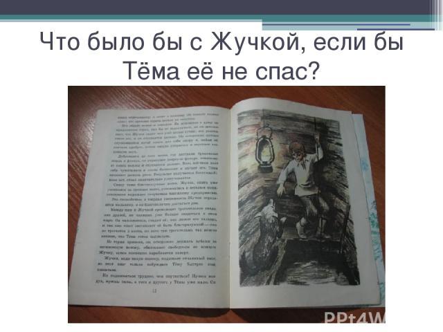 Что было бы с Жучкой, если бы Тёма её не спас?