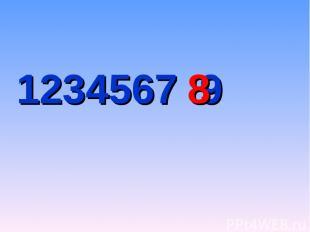 1234567 9 8