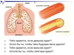 Тебе нравится, если девушка курит? Хотел бы ты, чтобы твоя будущая жена курила?