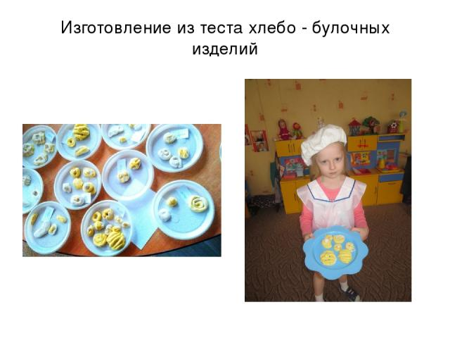 Изготовление из теста хлебо - булочных изделий