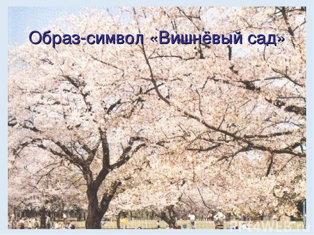 Образ-символ «Вишнёвый сад»