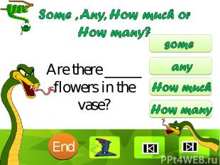 Are there _____ flowers in the vase? 10 9 8 7 6 5 4 3 2 1 End Clique para editar