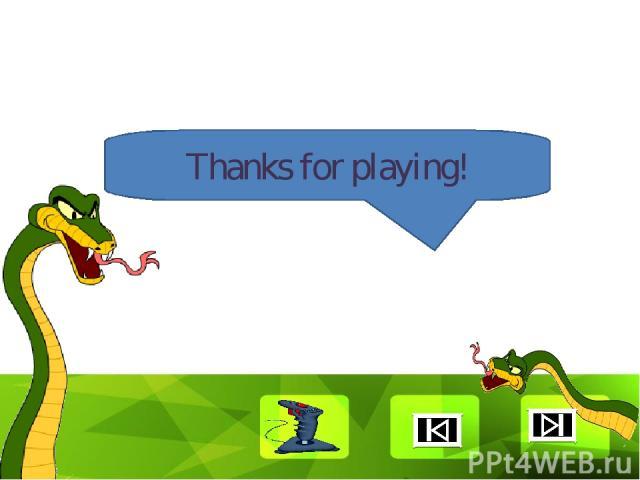 Thanks for playing! Clique para editar o estilo Faça clique para editar o estilo * *