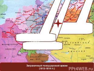 Заграничный поход русской армии (1813-1814 гг.) 1 (13) января 1813 года - начало