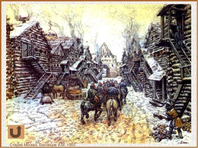 Старая Москва. Васнецов А.М. 1905