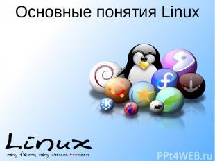 Основные понятия Linux