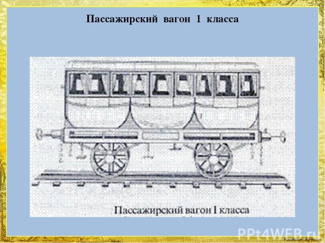 Пассажирский вагон 1 класса FokinaLida.75@mail.ru