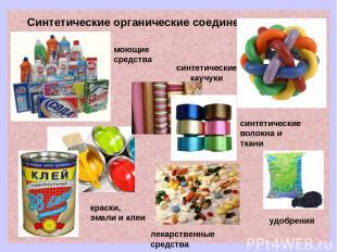 Синтетические органические соединения лекарственные средства синтетические каучу