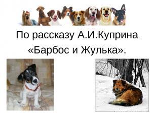 По рассказу А.И.Куприна «Барбос и Жулька».