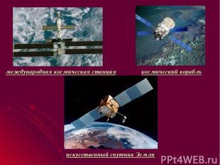 международная космическая станция космический корабль искусственный спутник Земл