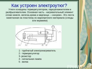 Как устроен электроутюг? Утюги оснащены терморегулятором, пароувлажнителем и раз