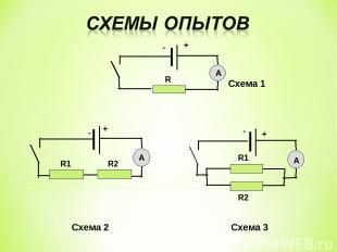 Схема 1 Схема 2 Схема 3