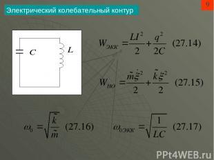 9 Электрический колебательный контур