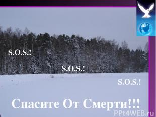 S.O.S.! S.O.S.! S.O.S.! Спасите От Смерти!!!
