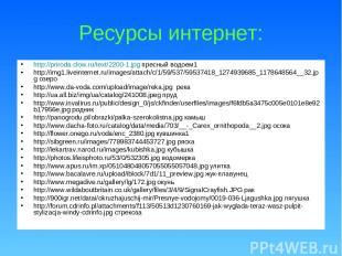 Ресурсы интернет: http://priroda.clow.ru/text/2200-1.jpg пресный водоем1 http://