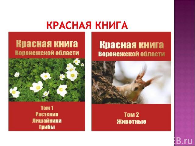 Красная книга Российской Федерации ЖИВОТНЫЕ Красная книга Российской Федерации РАСТЕНИЯ
