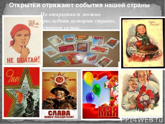 Доклад об открытке, открытки идеи