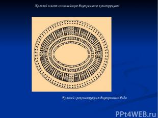 Колизей: реконструкция внутреннего вида Колизей имеет сложнейшую внутреннюю конс